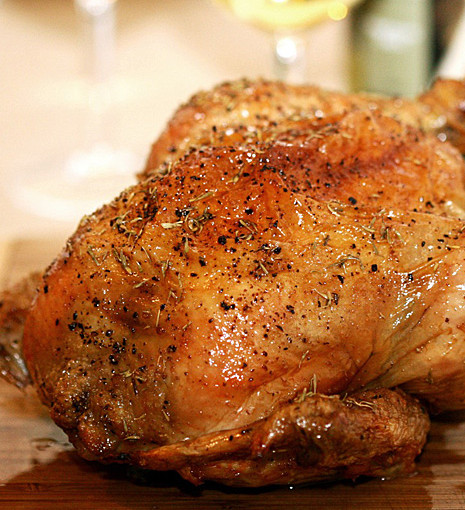 Thomas Keller's Roasted Chicken