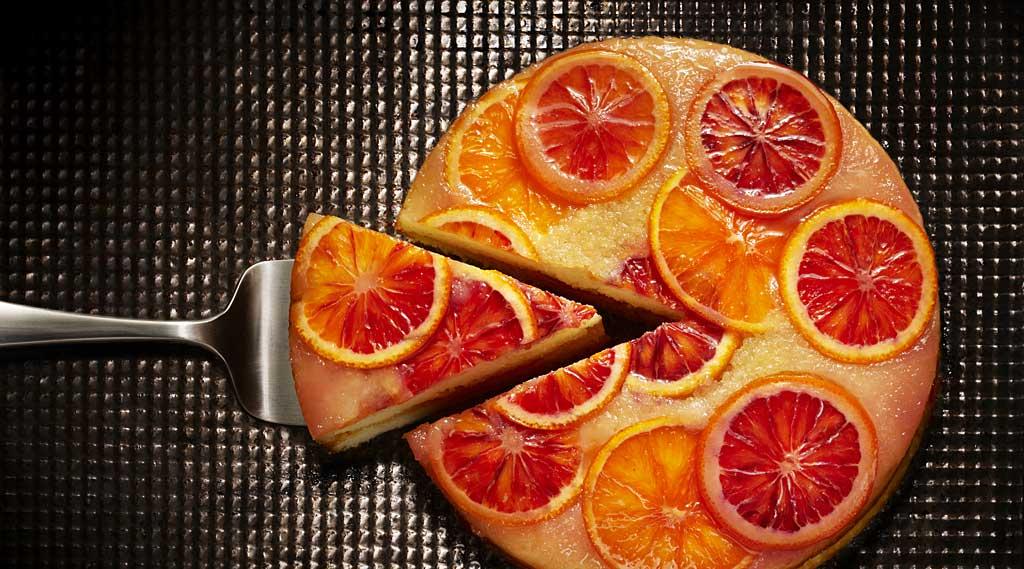 Mimosa Bunt Cake